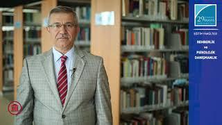 Prof. Dr. Ahmet KOÇ Rehberlik ve Psikolojik Danışmanlık Lisans Programını Anlatıyor