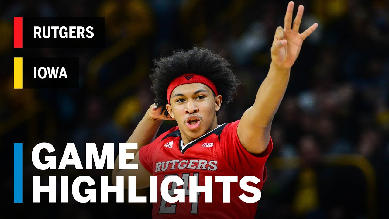 Iowa men's basketball vs  Rutgers: Final score, stats, highlights