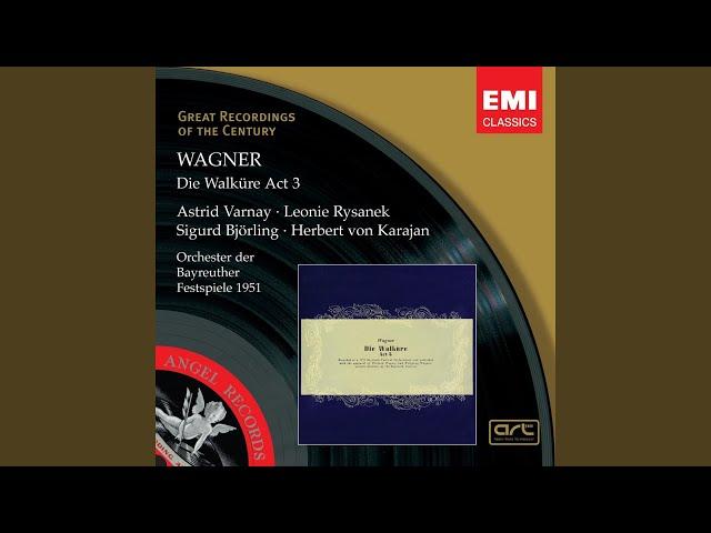 Die Walküre (2007 Remastered Version) , Act III, Erste Szene: Orchestervorspiel: Hojotoho!...