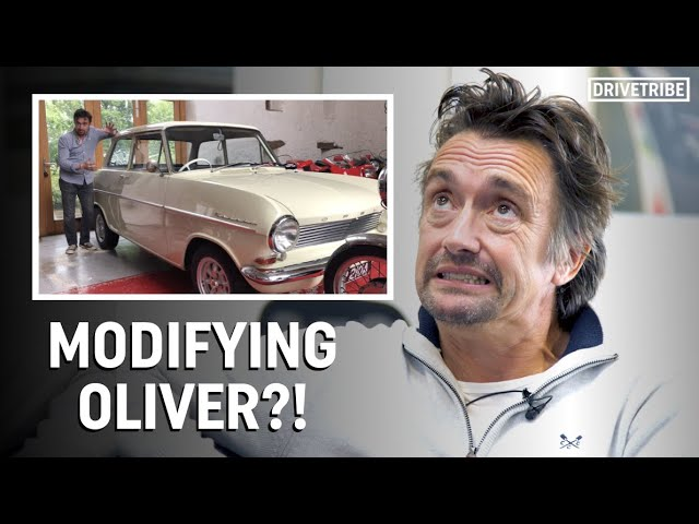 Richard Hammond reveals the massive plans he has for Oliver