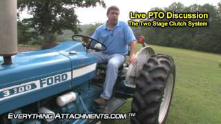 how to operate and drive a tractor part 1
