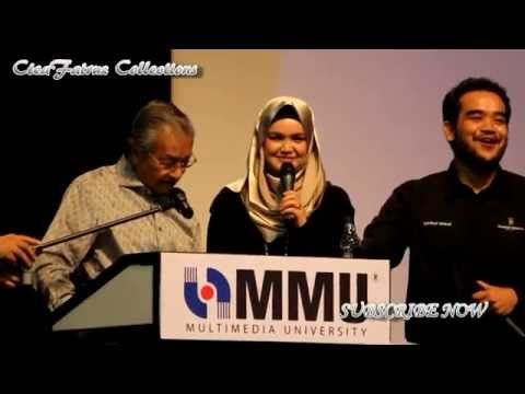 Tun Dr Mahathir Mohamad berduet with Dato Siti Nurhaliza-My Way (The Journey)