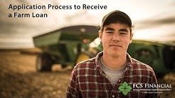 Application Process to Receive a Farm Loan