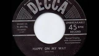 Happy On My Way - Bill Monroe YouTube Videos