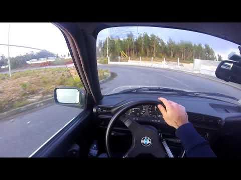 POV - BMW E30 316i Drift Session