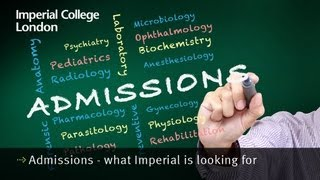 Admissions - what Imperial is looking for thumbnail