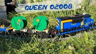 Train set QUEEN (LEPIN) 82008 (02008) in dandelions