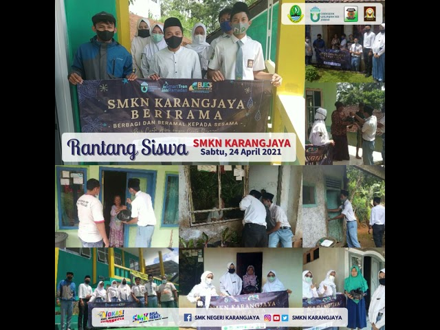 Kegiatan Rantang Siswa SMKN Karangjaya