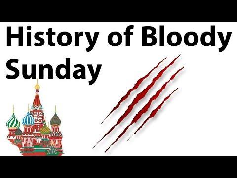 Bloody Sunday Massacre Of Russia, Russian Revolution Of 1905 हिंसक चरण की शुरुआत
