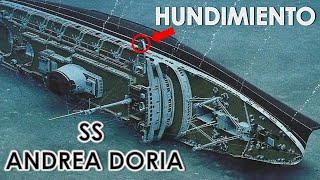 EL HUNDIMIENTO DEL ANDREA DORIA - HISTORIA REAL - MendoZza