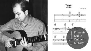 Tenderly - Luiz Bonfa (Transcription)