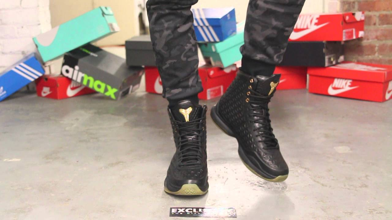 timeless design a79e7 77a0f discount kobe x high ext black gum on feet video at exclucity youtube 664a7  f4e44