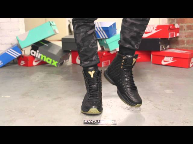 3f272d9beed6 Kobe X High EXT - Black - Gum - On-feet Video at Exclucity - YouTube