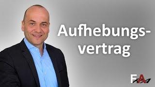 Arbeitsrechtliche Aufhebungsverträge | Fachanwalt Alexander Bredereck