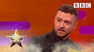 Justin Timberlake had urine thrown at his head! | The Graham Norton Show - BBC