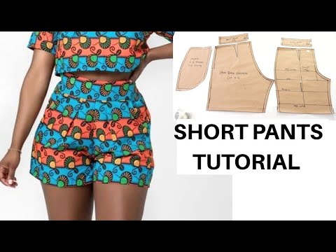 Download How to make a Short Pants Pattern | Pattern Drafting Tutorial | Easy way of making a Short Pants