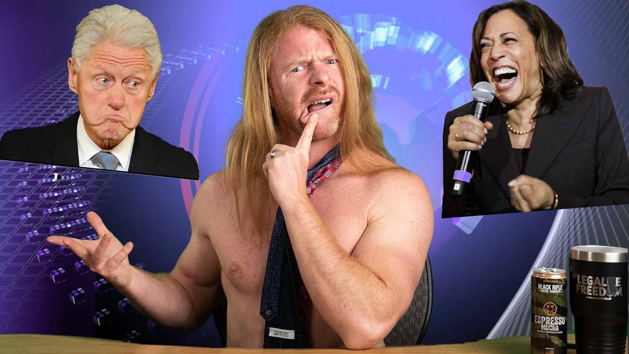 Kamala Chooses Bill Clinton To Empower Women!?