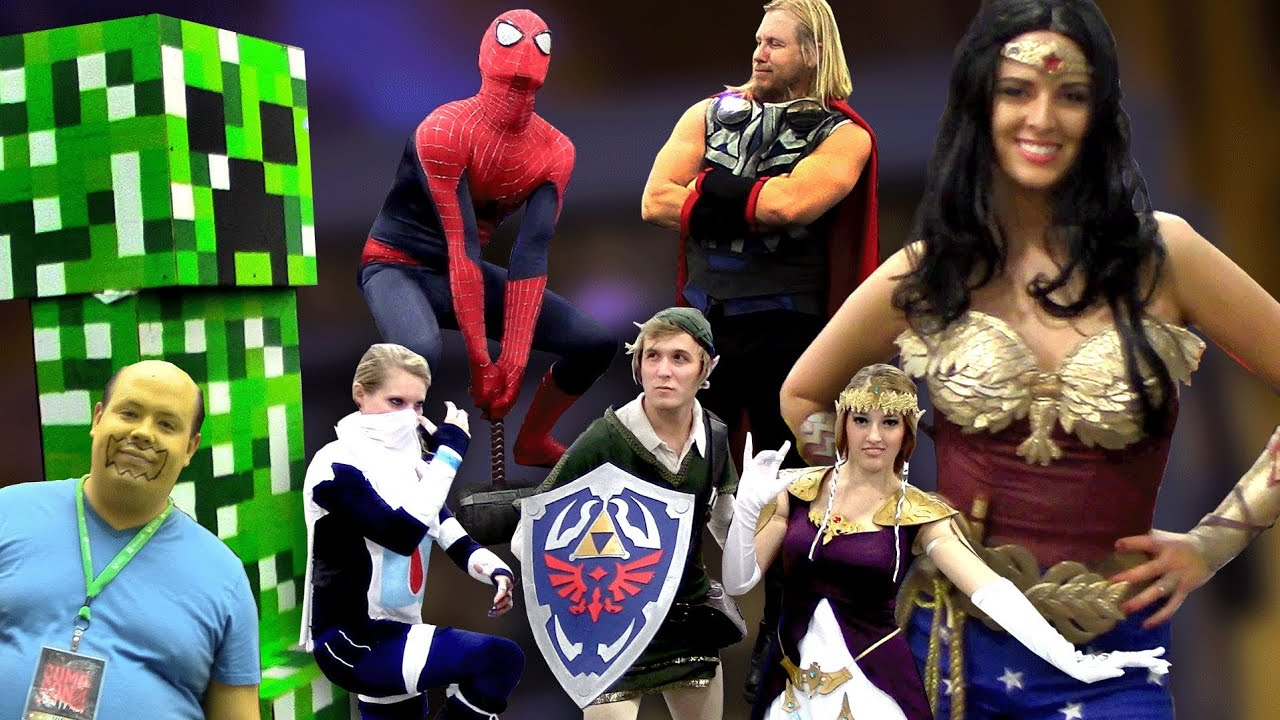 The Best Comic Con Cosplay Costume Highlights  sc 1 st  YouTube & The Best Comic Con Cosplay Costume Highlights - YouTube