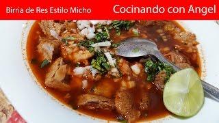 Birria de Res Estilo Michoacán | Recetas deliciosas