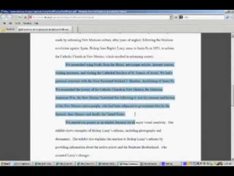 Nhd process essay
