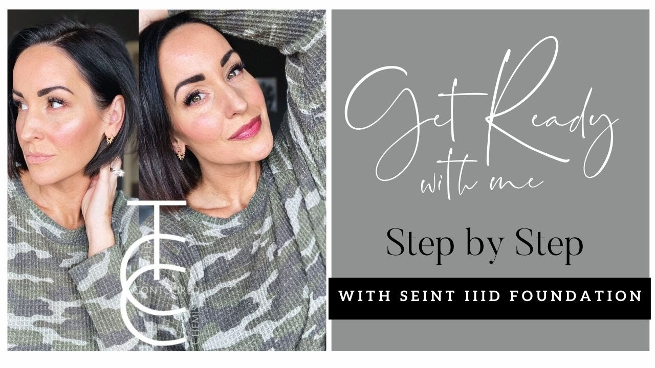 Step by Step Get Ready with Me using Seint's IIID Foundation | Natural Day Look to Night Out