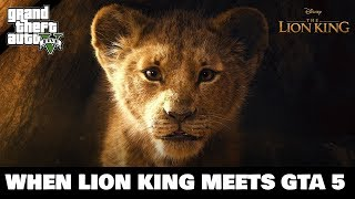 The Lion King Official GTA 5 Trailer