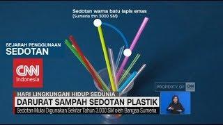 Darurat Sampah Sedotan Plastik - Hari Lingkungan Hidup Sedunia