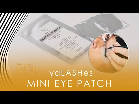 Mini Eye Patch yaLASHes 2 Paar video
