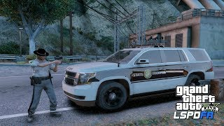 GTA 5 LSPDFR Police Mod - North Carolina Highway Patrol