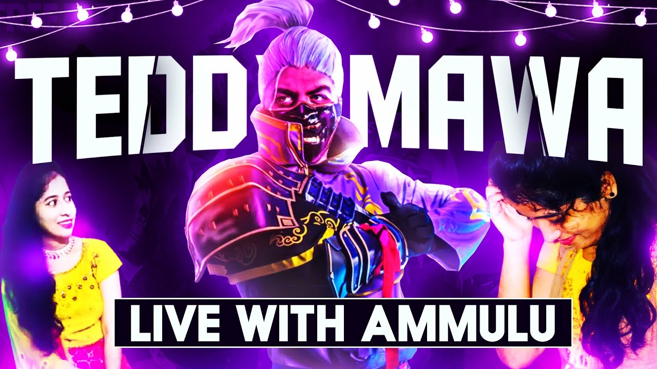 Free Fire Live with Ammulu Road to 25k Subscribers - Garena Free Fire Live