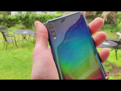 موبايل Samsung A70 - تصوير إحترافى بكاميرا ثلاثية