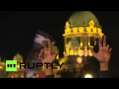 Serbia: Frenzied fans celebrate FIBA Basketball World Cup silver medal