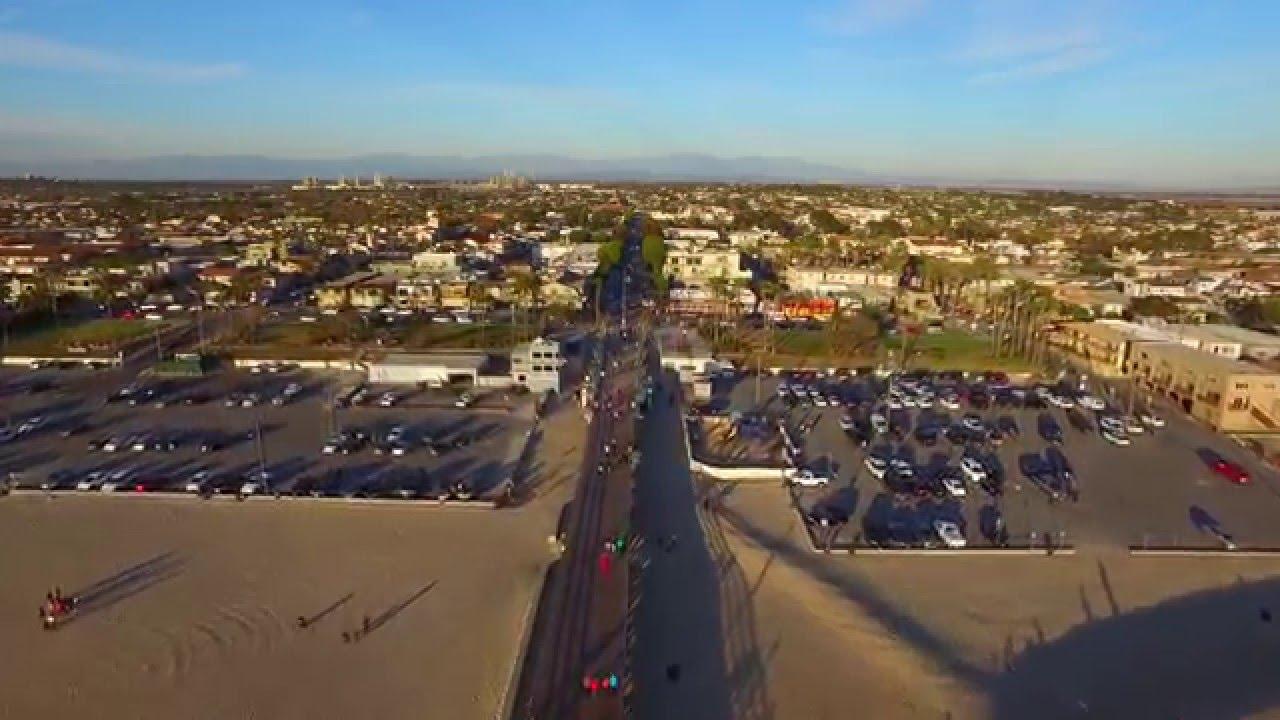 Seal Beach Ca Pier And Main Street