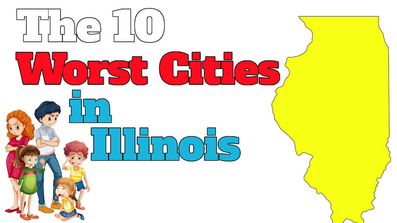 The 10 Worst Cities In Illinois Explained Illinois State Map With Towns on washington map with towns, illinois map by city, stony brook map with towns, hawaii map with towns, colorado map with towns, united states map with towns, florida gulf coast map with towns, north texas map with towns, california map with towns,