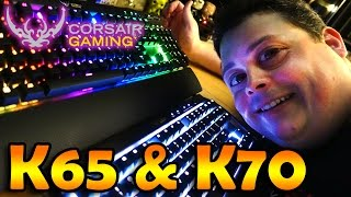 reviewing corsair gaming k65 k70 rgb mechanical keyboards