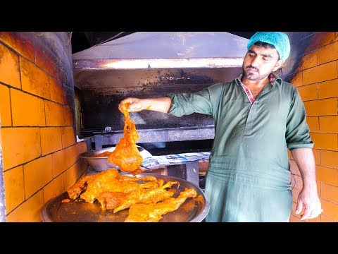 Pakistani Food - 3 MUTTON LEGS Spicy Masala + Late Night STREET FOOD in Karachi Pakistan