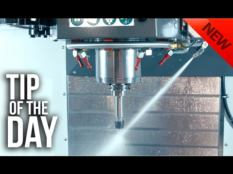 Haas Programmable Coolant (P-Cool) Tricks You Didn't Know About – Haas Automation Tip of the Day