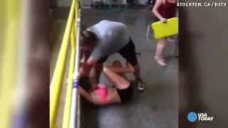 Student dragged by teacher speaks about ordeal