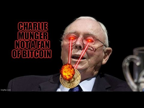 Charlie Munger Not  A Fan of Bitcoin
