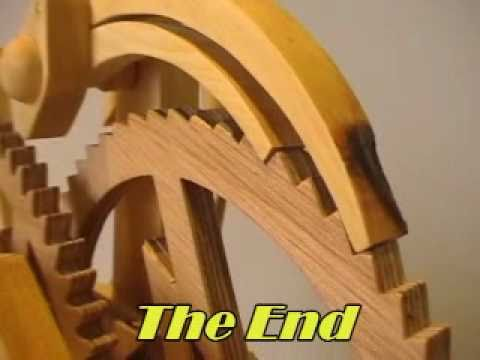 Flash A Wooden Clock Youtube