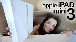 Apple iPad Mini 3 gold unboxing en español
