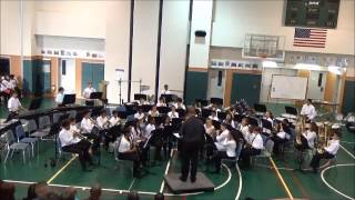 Yokosuka MS Intermediate Band - The Red River Valley by Pierre LaPlante