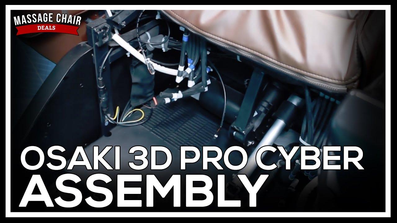 Osaki 3D Pro Cyber Massage Chair Installation