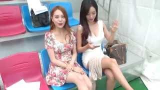 풋볼데이 BJ최군,김마메,커맨더지코,효근 눈이득 모델 김민영 페북여신 채보미 방송 - 최군TV - 3