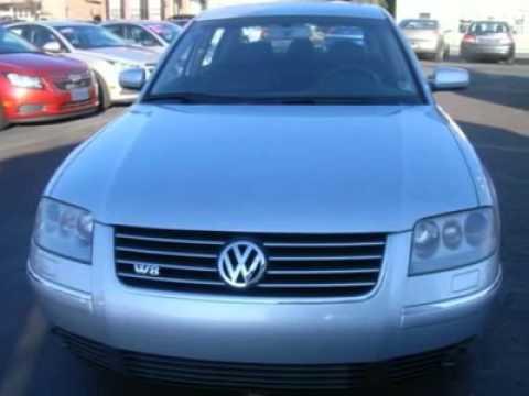 2002 Volkswagen Pat Danville Pa 43540a