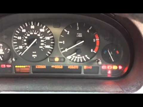 E53 Dash Lights On After Disconnected Battery And Reconnect Youtube