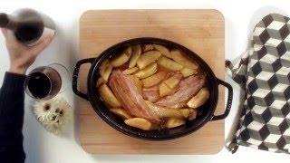 Cocotte de poulet aux pommes - Le repas idéal pour recevoir et surprendre!
