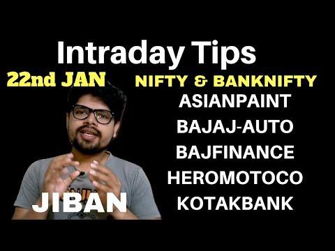 SHARE MARKET   Intraday Trading Tips for Tomorrow 22 January 2019   Jibanjyoti Panigrahi