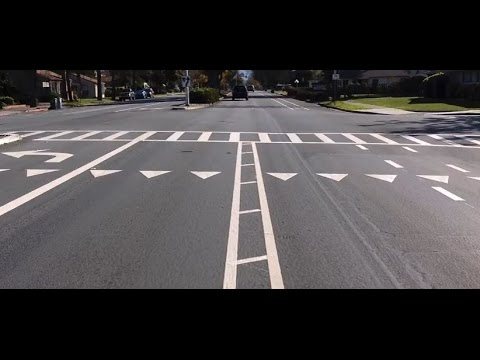 Pavement Markings - Yield Lines and Striped Medians - YouTube
