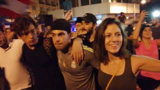 أغنية الالترس الأهلي في شوارع لبنان